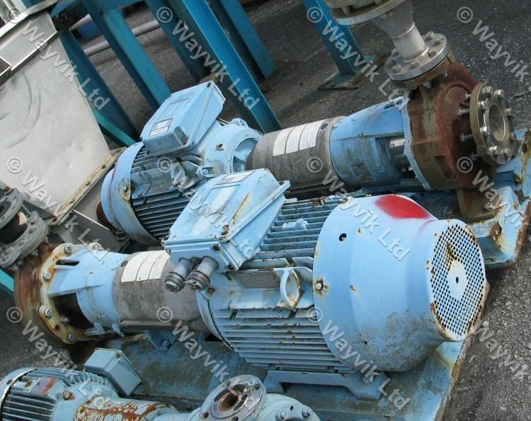 Ingersoll Dresser 100-65 CPX250 Stainless Steel Centrifugal Pump