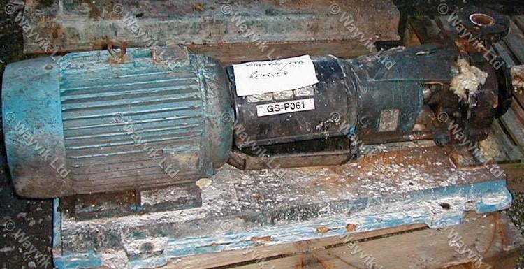 Ingersoll Dresser 65-40 CPX250 Cast Iron Centrifugal Pump